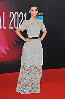 """Lara McDonnell at the 65th BFI London Film Festival """"Belfast"""" American Airlines gala, Royal Festival Hall, Belvedere Road, on Tuesday 12th October 2021, in London, England, UK.  <br /> CAP/CAN<br /> ©CAN/Capital Pictures"""