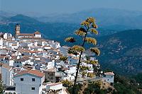 Spanien, Andalusien, Algatocin - eines der Weißen Dörfer