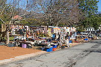 South Africa, Franschhoek.  African Handicrafts and Souvenirs for Sale.