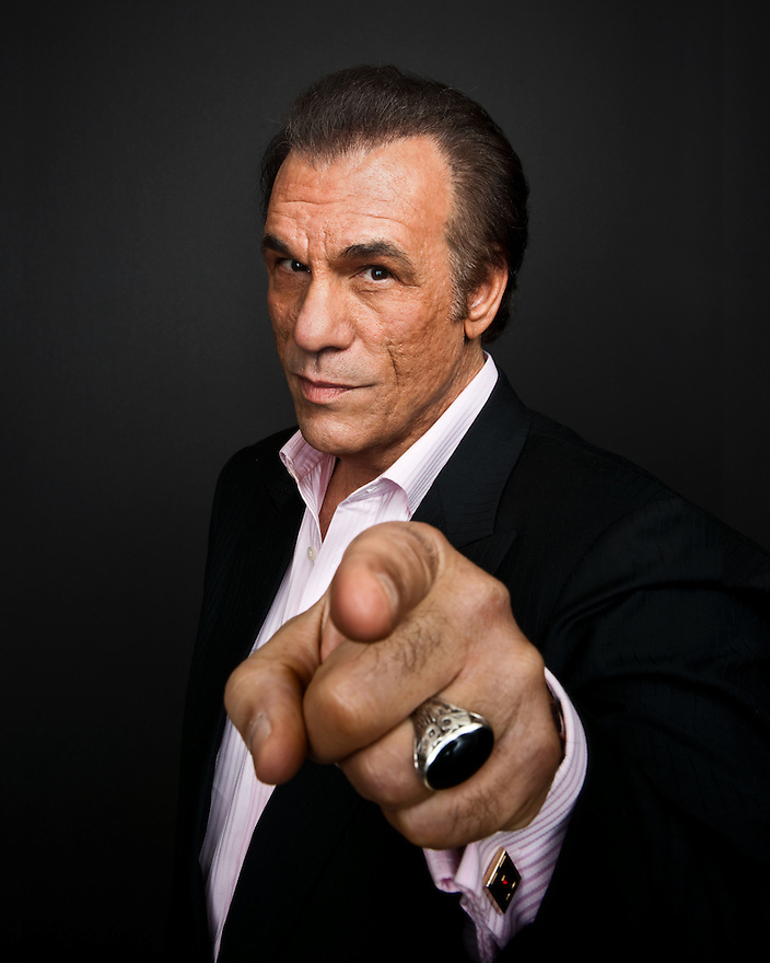 Robert Davi photographed for The Creative Coalition at Haven House in Beverly Hills, California on February 20, 2009