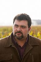 Jerome Depoizier, winemaker. Chateau Nenin, Pomerol, Bordeaux, France