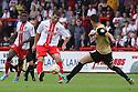 Dani Lopez of Stevenage shoots<br />  - Stevenage v Leyton Orient - Sky Bet League 1 - Lamex Stadium, Stevenage - 17th August, 2013<br />  © Kevin Coleman 2013