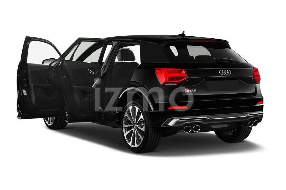 Car images close up view of a 2019 Audi SQ2 Base 5 Door SUV doors