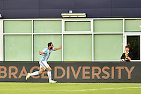 Foxborough, MA - Saturday June 18, 2016: Gonzalo Higuain celebrates scoring prior to a Copa America Centenario quarterfinal match between Argentina (ARG) and Venezuela (VEN)  at Gillette Stadium.