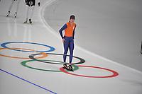 OLYMPIC GAMES: PYEONGCHANG: 17-02-2018, Gangneung Oval, Long Track, Training session, Sven Kramer (NED), ©photo Martin de Jong