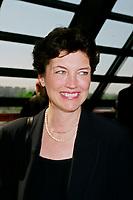 1999 File Photo - Louise Roy (L)