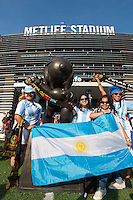 Photo before the match Argentina vs Chile, Corresponding to Great Final of the America Centenary Cup 2016 at Metlife Stadium, East Rutherford, New Jersey.<br /> <br /> <br /> Foto previo al partido Argentina vs Chile, correspondiente a la Gran Final de la Copa America Centenario 2016 en el  Metlife Stadium, East Rutherford, Nueva Jersey, en la foto: Fans<br /> <br /> 26/06/2016/MEXSPORT/Jorge Martinez.