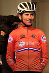 Annemiek Van Vleuten of The Netherlands at sign on for the start of the Women Elite Road Race of the UCI World Championships 2019 running 149.4km from Bradford to Harrogate, England. 28th September 2019.<br /> Picture: Eoin Clarke | Cyclefile<br /> <br /> All photos usage must carry mandatory copyright credit (© Cyclefile | Eoin Clarke)