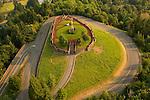 Aerial of Rocky Butte, Portland, Oregon