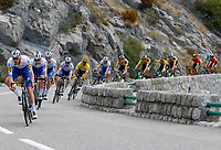 31st August 2020, Nice to Sisteron, France; Tour de France cycling tour, stage 3;  DECLERCQ Tim (BEL) of DECEUNINCK - QUICK - STEP, ALAPHILIPPE Julian (FRA) of DECEUNINCK - QUICK - STEP