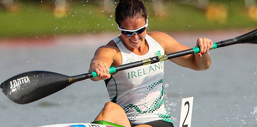 After a great start putting her right in contention for the spot, Jenny Egan slipped down the order to finish 8th in the final