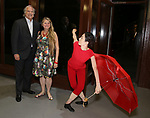 Stewart F. Lane and Bonnie Comley attends the ChaShaMa 'Open Studios' Opening Night Reception on October 12, 2018 at the Brooklyn Army Terminal in Brooklyn, New York.