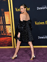 "LOS ANGELES, USA. November 15, 2019: Keltie Knight at the premiere of ""Knives Out"" at the Regency Village Theatre.<br /> Picture: Paul Smith/Featureflash"