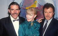Peter Max Joanne Woodward Harvey Keitel 1989 Photo By John Barrett/PHOTOlink