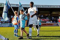 *** during the Friendly match between Wycombe Wanderers and Brentford at Adams Park, High Wycombe, England on 19 July 2016. Photo by David Horn PRiME Media Images.