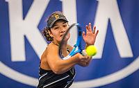 Amstelveen, Netherlands, 17  December, 2020, National Tennis Center, NTC, NK Indoor, National  Indoor Tennis Championships,   : Merel Hoedt (NED) <br /> Photo: Henk Koster/tennisimages.com