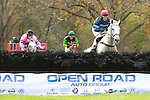 17 10 2009: Left Unsaid with Ross Geraghty win the Grade I - Novice Foxbrooke Supreme Hurdle 2 1/8 miles, for 4-year old and up, Moorland Farms, Far Hills, NJ