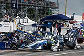 2017 Verizon IndyCar Series - Firestone Grand Prix of St. Petersburg<br /> St. Petersburg, FL USA<br /> Sunday 12 March 2017<br /> Max Chilton pit stop<br /> World Copyright:Sam Cobb/LAT Images<br /> ref: Digital Image cobb-stpete-170312-4392