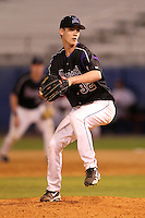 Minnesota State Mavericks Jason Hoppe #32 during a game vs. the Illinois State Redbirds at Chain of Lakes Park in Winter Haven, Florida;  March 4, 2011.  Illinois State defeated Minnesota State 3-2.  Photo By Mike Janes/Four Seam Images
