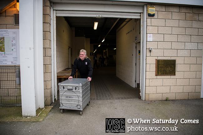 Woking 3 Torquay United 3, 06/04/2019. Kingfield Stadium, National League South. Photo by Simon Gill.