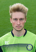 Reece Clifford of Wycombe Wanderers during the Wycombe Wanderers 2016/17 Team & Individual Squad Photos at Adams Park, High Wycombe, England on 1 August 2016. Photo by Jeremy Nako.
