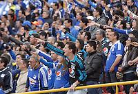 BOGOTÁ -COLOMBIA, 15-06-2013. Aspecto del encuentro entre Millonarios y Once Caldas de los cuadrangulares finales F1 de la Liga Postobón 2013-1 jugado en el estadio el Campín de la ciudad de Bogotá./ Aspect of match between Millonarios and Once Caldas during match of the final quadrangular 1th date of Postobon League 2013-1 at El Campin stadium in Bogotá city. Photo: VizzorImage/STR