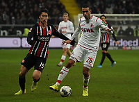 Ellyes Skhiri (1. FC Koeln) gegen Daichi Kamada (Eintracht Frankfurt) - 18.12.2019: Eintracht Frankfurt vs. 1. FC Koeln, Commerzbank Arena, 16. Spieltag<br /> DISCLAIMER: DFL regulations prohibit any use of photographs as image sequences and/or quasi-video.