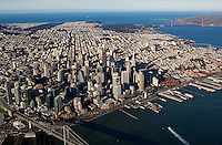 aerial overview of San Francisco, California