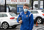 St Johnstone v Galatasaray…12.08.21  McDiarmid Park Europa League Qualifier<br />Jason Kerr arrives at McDiarmid Park ahead of tingiht's game<br />Picture by Graeme Hart.<br />Copyright Perthshire Picture Agency<br />Tel: 01738 623350  Mobile: 07990 594431
