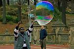 Central Park Bubble Blower