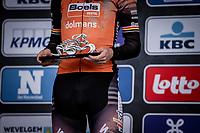 Jolien Dhoore (BEL/Boels-Dolmans) wins the 9th Gent-Wevelgem in Flanders Fields 2020<br /> Elite Womens Race (1.WWT)<br /> <br /> One Day Race from Ypres (Ieper) to Wevelgem 141km<br /> <br /> ©kramon