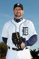 Feb 21, 2009; Lakeland, FL, USA; The Detroit Tigers pitcher Scott Williamson (76) during photoday at Tigertown. Mandatory Credit: Tomasso De Rosa/ Four Seam Images