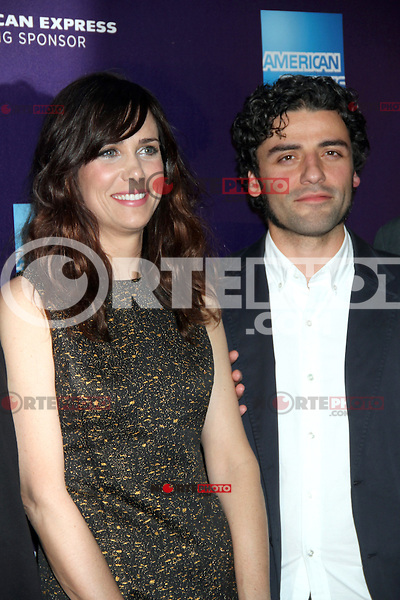 April 21, 2012 Kristen Wiig and Oscar Isaac attend the premiere of  Revenge for Jolly -2012 Tribeca Film Festival at the Chelsea Clearview Cinemas  in New York City. © RW/MediaPunch Inc.