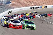 2017 NASCAR Xfinity Series - Boyd Gaming 300<br /> Las Vegas Motor Speedway - Las Vegas, NV USA<br /> Saturday 11 March 2017<br /> Joey Logano and Daniel Suarez, Interstate Batteries Toyota Camry<br /> World Copyright: Russell LaBounty/LAT Images<br /> ref: Digital Image 17LAS1rl_3579