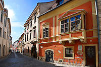 Typical Baroque houses - Sopron, Hungary