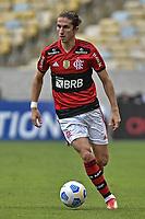3rd October 2021; Maracana Stadium, Rio de Janeiro, Brazil; Brazilian Serie A, Flamengo versus Athletico Paranaense; Filipe Luís of Flamengo
