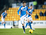 St Johnstone v Inverness Caley Thistle…03.12.16   McDiarmid Park..     SPFL<br />Murray Davidson back in action after injury<br />Picture by Graeme Hart.<br />Copyright Perthshire Picture Agency<br />Tel: 01738 623350  Mobile: 07990 594431