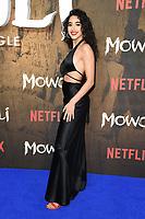 "Kara Marni<br /> arriving for the""Mowgli: Legend of the Jungle"" premiere at the Curzon Mayfair, London<br /> <br /> ©Ash Knotek  D3464  04/12/2018"