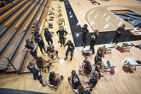 STOCKTON, CA - DECEMBER 15: Tara VanDerveer becomes the all time NCAA Women's Basketball winningest coach with  1,099 victories during a game between Pacific and Stanford University at Alex G. Spanos Center on December 15, 2020 in Stockton, California.