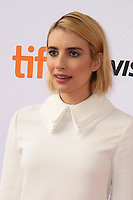 EMMA ROBERTS - RED CARPET OF THE FILM 'WHO WE ARE NOW' - 42ND TORONTO INTERNATIONAL FILM FESTIVAL 2017
