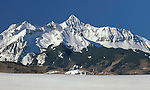 """Wilson Peak (14,017 feet), San Juan Mountains, Telluride. From John's 3rd book, """"Mastering Nature Photography"""".<br /> John's leads private photo tours throughout Colorado, in all seasons."""