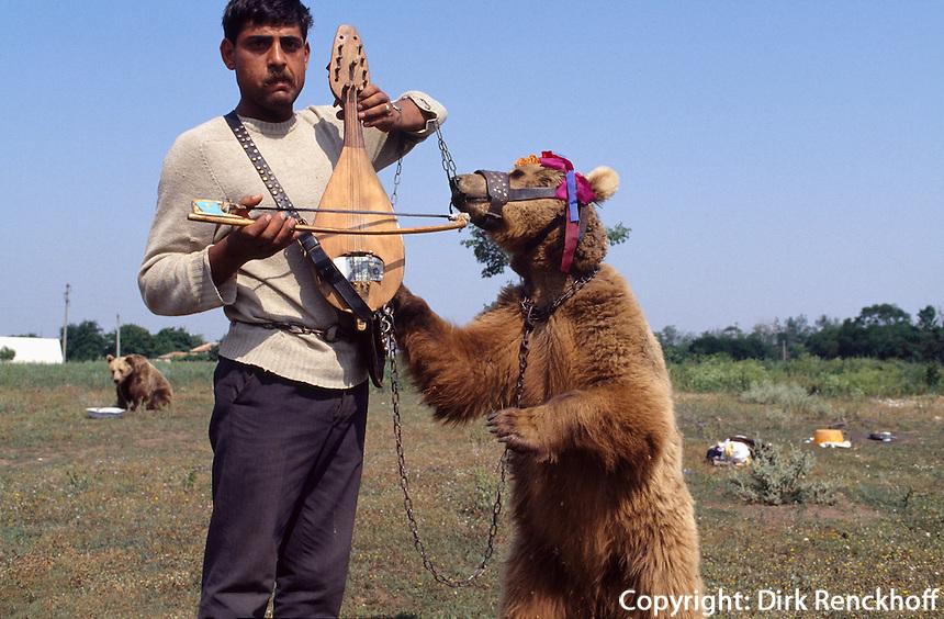 Zigeuner mit Tanzbär, Bulgarien