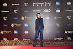 Miriam Yeung during the Red Carpet event at the World Celebrity Pro-Am 2016 Mission Hills China Golf Tournament on 20 October 2016, in Haikou, China. Photo by Weixiang Lim / Power Sport Images