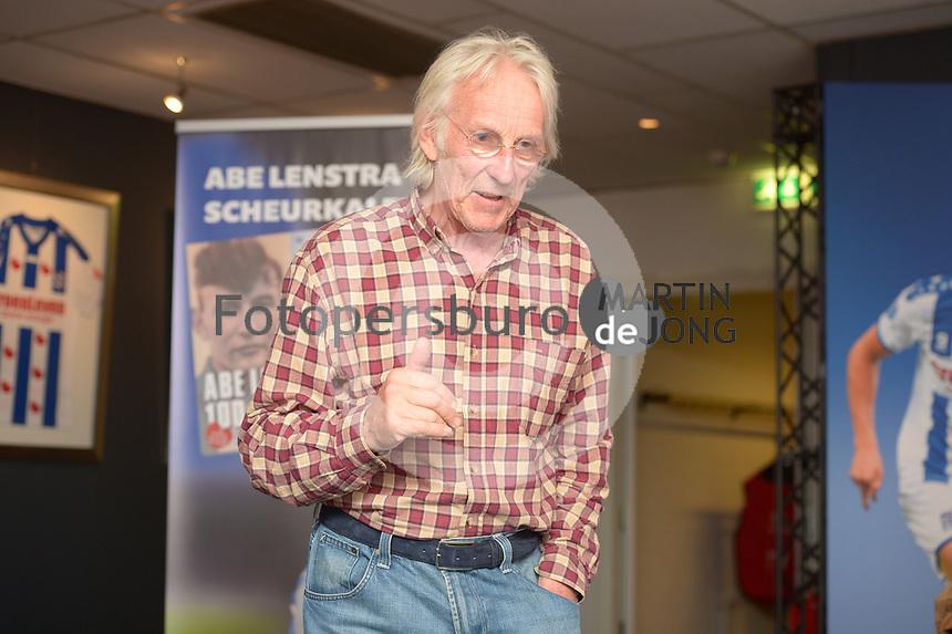 CULTUUR: HEERENVEEN: 06-09-2016, Abe Lenstra Stadion, Abe Lenstra Scheurkalender, Freek de Jonge, ©foto Martin de Jong