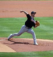 Zach Plesac - Cleveland Indians 2021 spring training (Bill Mitchell)