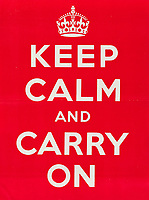 Extremely rare, original World War Two 'Keep Calm and Carry On' poster has emerged for sale for £14k