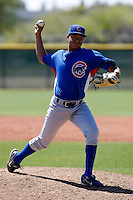 Chris Archer - Chicago Cubs - 2009 spring training.Photo by:  Bill Mitchell/Four Seam Images