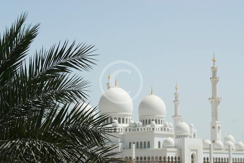 United Arab Emirates, Abu Dhabi, Sheikh Zayed Mosque