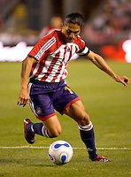 Juan Francisco Palencia Forward & team captain of the Chivas USA during a 0-0 tie between the Chivas USA vs New York Red Bulls in a game at The Depot Center in Carson, California Saturday, April, 29, 2006.