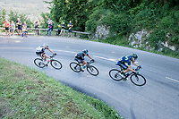 race leaders with eventual stage winner Peter Kennaugh (GBR/SKY) on board<br /> <br /> stage 7: Aoste > Alpe d'Huez (168km)<br /> 69th Critérium du Dauphiné 2017